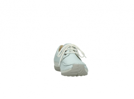 wolky veterschoenen 4800 coral 285 ice blauw leer_18