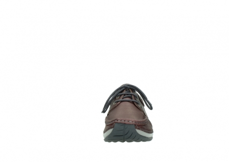 wolky veterschoenen 4825 coral winter 162 bordeaux metallic gemeleerd leer_19