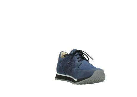 wolky veterschoenen 5800 e walk 280 donkerblauw nubuck_17