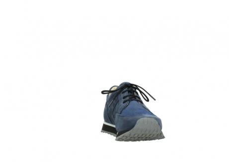 wolky veterschoenen 5800 e walk 280 donkerblauw nubuck_18