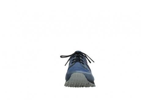 wolky veterschoenen 5800 e walk 280 donkerblauw nubuck_19