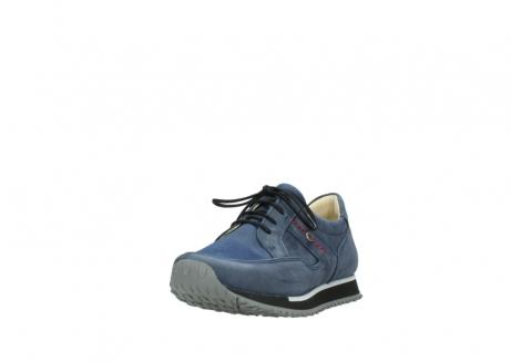 wolky veterschoenen 5800 e walk 280 donkerblauw nubuck_21