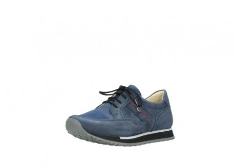 wolky veterschoenen 5800 e walk 280 donkerblauw nubuck_22