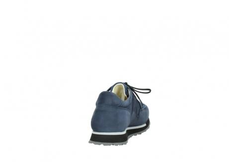 wolky veterschoenen 5800 e walk 280 donkerblauw nubuck_8