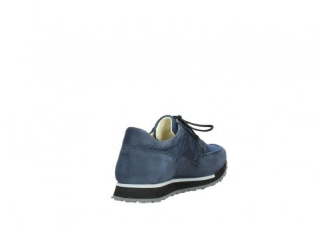 wolky veterschoenen 5800 e walk 280 donkerblauw nubuck_9