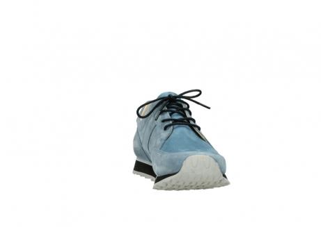 wolky schnurschuhe 5800 e walk 282 denim blau nubukleder_18