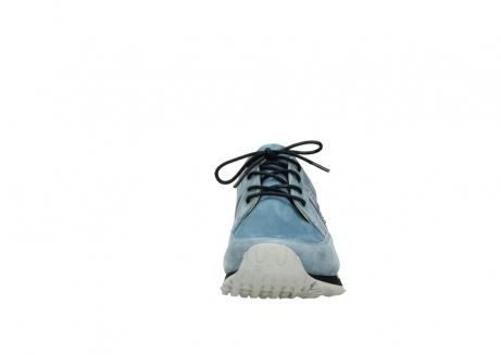 wolky schnurschuhe 5800 e walk 282 denim blau nubukleder_19
