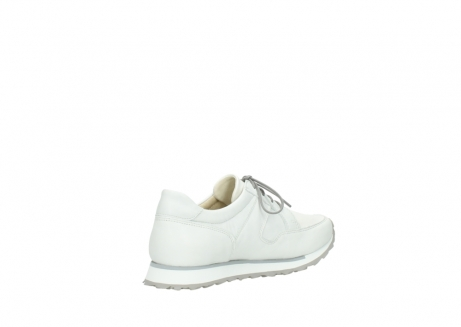wolky lace up shoes 5800 e walk 710 white leather_10