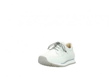 wolky lace up shoes 5800 e walk 710 white leather_21