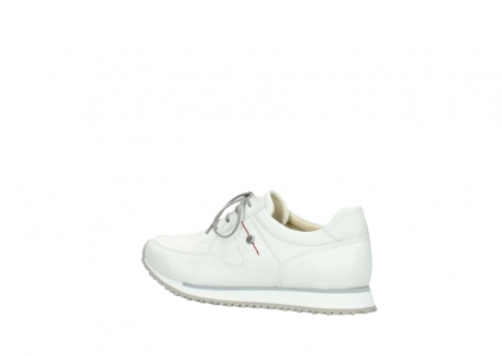 wolky lace up shoes 5800 e walk 710 white leather_3