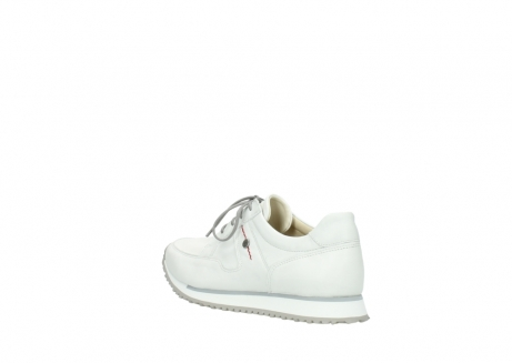wolky lace up shoes 5800 e walk 710 white leather_4