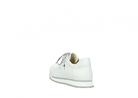 wolky lace up shoes 5800 e walk 710 white leather_5