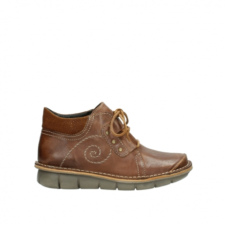 wolky veterschoenen 8384 gallo 543 cognac geolied leer