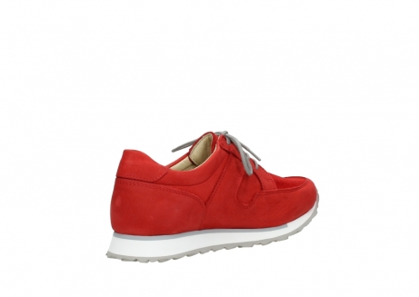 wolky walking shoes 05804 e walk 11500 red stretch nubuck_10