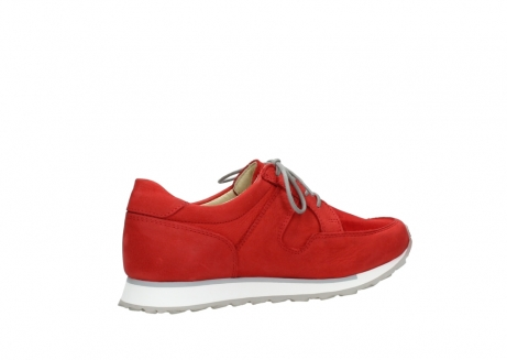 wolky walking shoes 05804 e walk 11500 red stretch nubuck_11