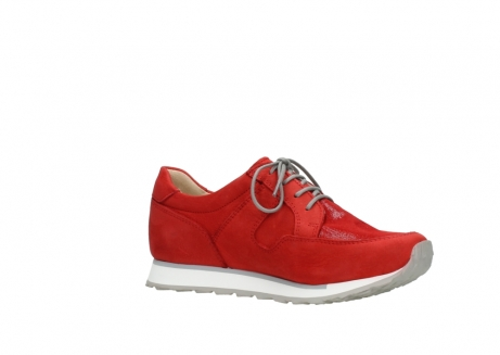 wolky walking shoes 05804 e walk 11500 red stretch nubuck_15