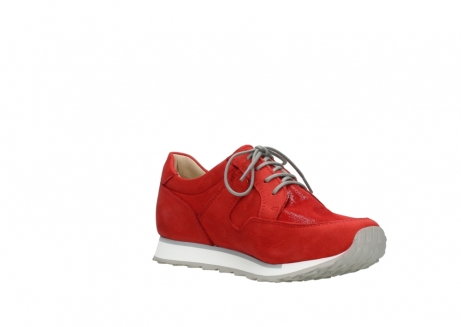 wolky walking shoes 05804 e walk 11500 red stretch nubuck_16