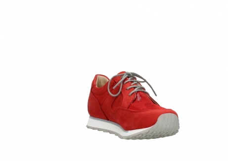 wolky walking shoes 05804 e walk 11500 red stretch nubuck_17