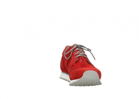 wolky walking shoes 05804 e walk 11500 red stretch nubuck_18