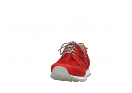wolky walking shoes 05804 e walk 11500 red stretch nubuck_20