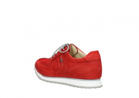 wolky walking shoes 05804 e walk 11500 red stretch nubuck_4