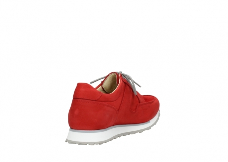 wolky walking shoes 05804 e walk 11500 red stretch nubuck_9