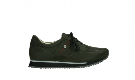 wolky walking shoes 05804 e walk 11730 forestgreen stretch leather_1