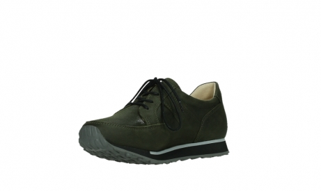 wolky walking shoes 05804 e walk 11730 forestgreen stretch leather_10