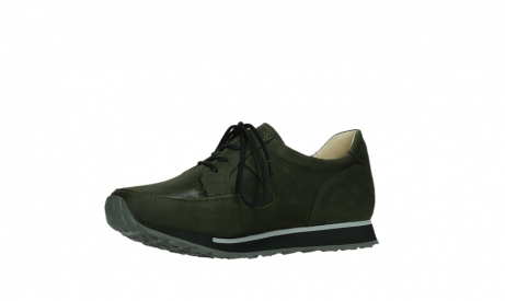 wolky walking shoes 05804 e walk 11730 forestgreen stretch leather_11