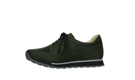 wolky walking shoes 05804 e walk 11730 forestgreen stretch leather_12