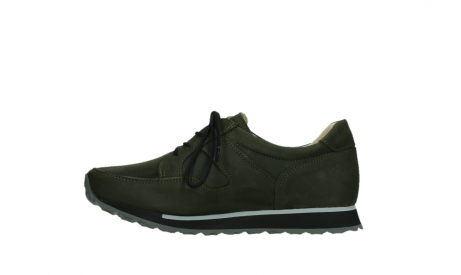 wolky walking shoes 05804 e walk 11730 forestgreen stretch leather_13