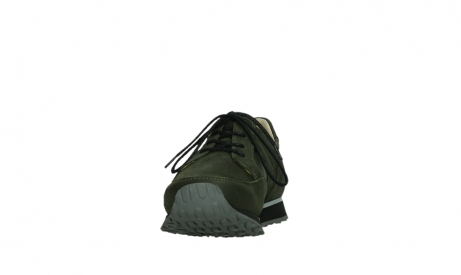 wolky walking shoes 05804 e walk 11730 forestgreen stretch leather_8