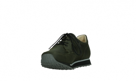 wolky walking shoes 05804 e walk 11730 forestgreen stretch leather_9