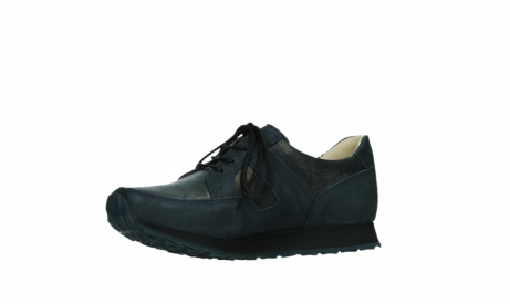 wolky walking shoes 05804 e walk 11814 blue gold stretchleather_11