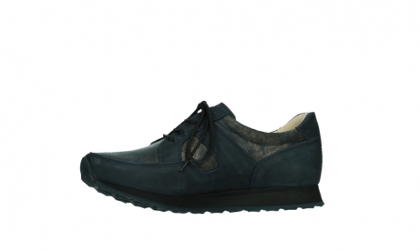 wolky walking shoes 05804 e walk 11814 blue gold stretchleather_12