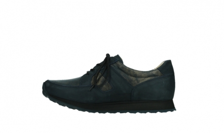 wolky walking shoes 05804 e walk 11814 blue gold stretchleather_13