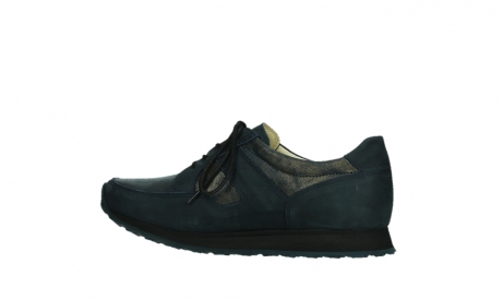 wolky walking shoes 05804 e walk 11814 blue gold stretchleather_14