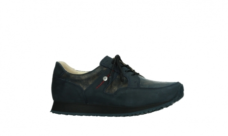 wolky walking shoes 05804 e walk 11814 blue gold stretchleather_2