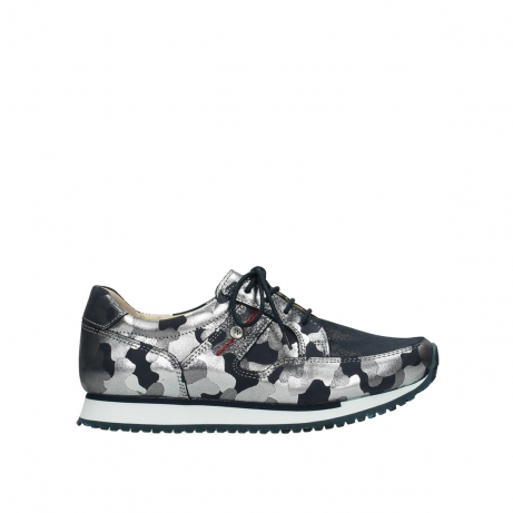 d3716288b5fe Wolky Shoes 05804 e-walk blue-summer camouflage order now! Biggest ...