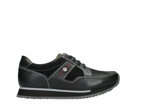 wolky walking shoes 05804 e walk 20009 black stretch leather_1