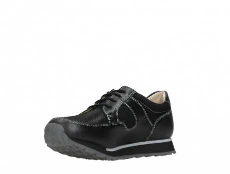 wolky walking shoes 05804 e walk 20009 black stretch leather_10