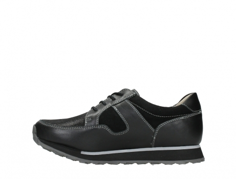 wolky walking shoes 05804 e walk 20009 black stretch leather_13
