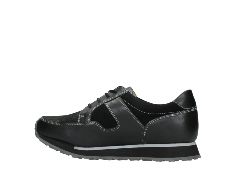 wolky walking shoes 05804 e walk 20009 black stretch leather_14