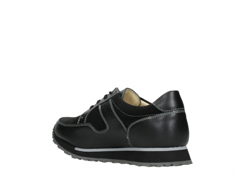 wolky walking shoes 05804 e walk 20009 black stretch leather_16