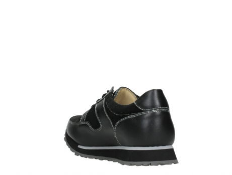 wolky walking shoes 05804 e walk 20009 black stretch leather_17
