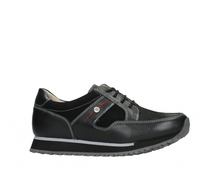 wolky walking shoes 05804 e walk 20009 black stretch leather_2
