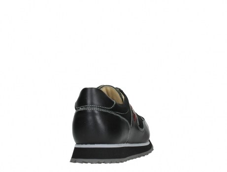 wolky walking shoes 05804 e walk 20009 black stretch leather_20