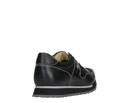 wolky walking shoes 05804 e walk 20009 black stretch leather_21