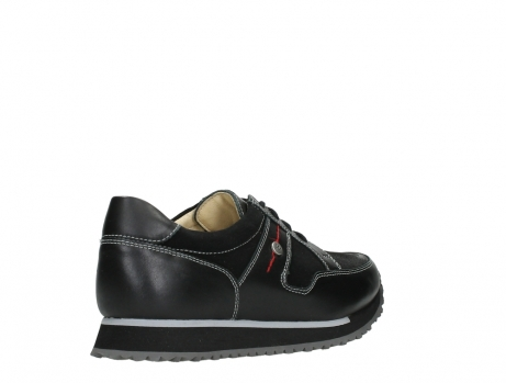 wolky walking shoes 05804 e walk 20009 black stretch leather_22