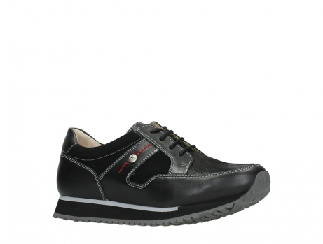wolky walking shoes 05804 e walk 20009 black stretch leather_3